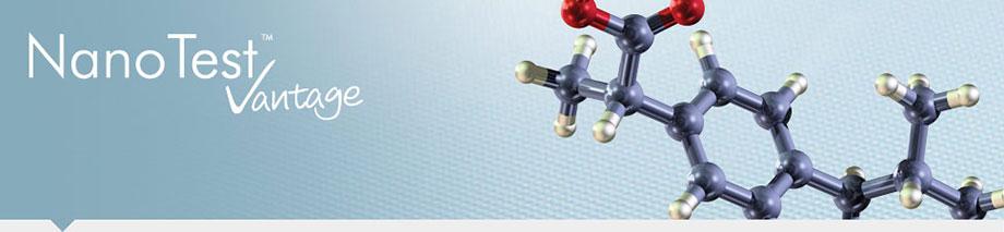 Nanoindentation NanoTest Vantage Pharmaceutical