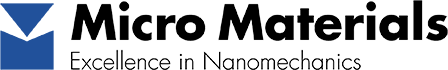 Micro Materials logo Nanoindentation