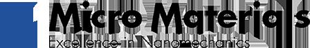 Micro Materials logo Nanoindentation